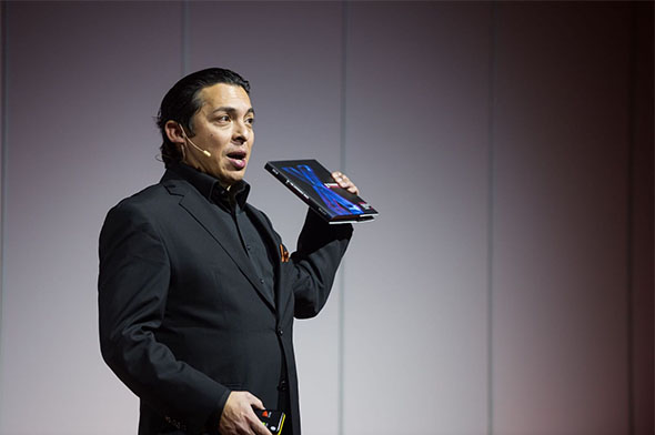 Brian Solis on stage during Lift16