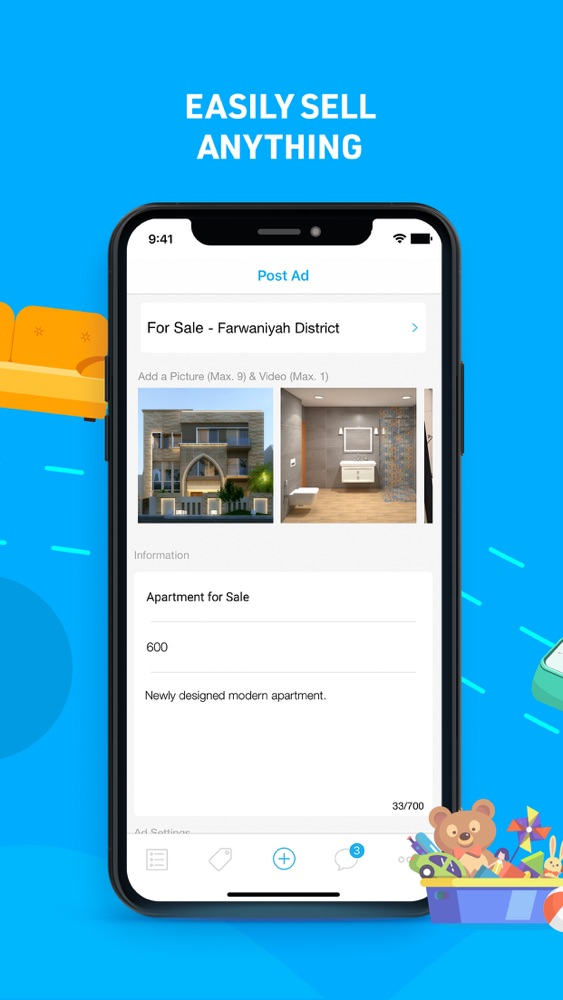 """4Sale's owners were not joking when pitching the app by saying """"Easily sell anything"""". It allows users to filter by race and other specifications when looking for a slave"""